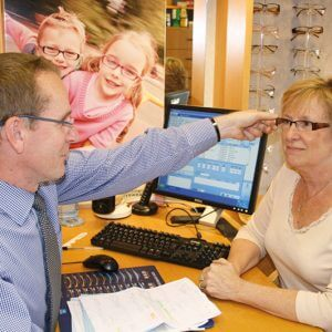 Dispensing optician